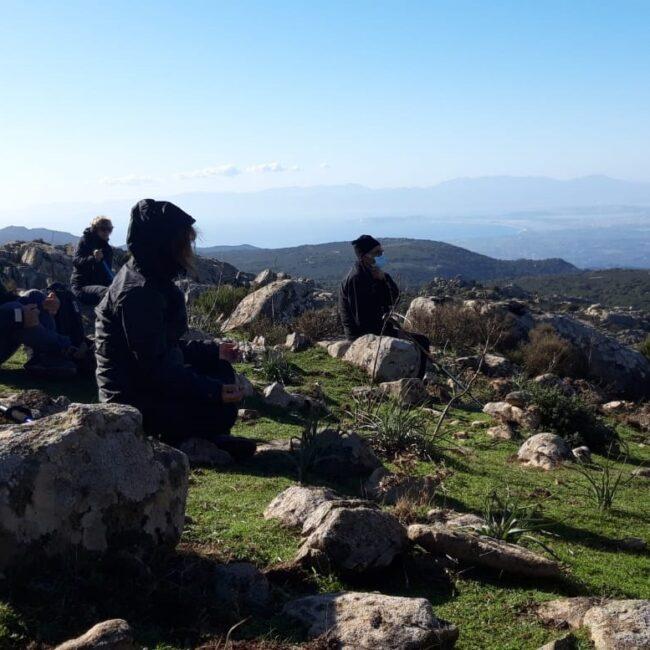 Yoga sui Settefratelli Sardegna